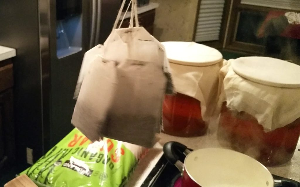 Bags With Yeast Iun To Make Drink
